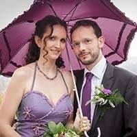 Hochzeitsfotograf Thomas Kowalzik - Brautpaar in Ottrau