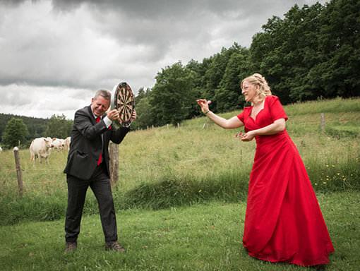 Eure Leidenschaft un Hobby im Brautpaarfoto
