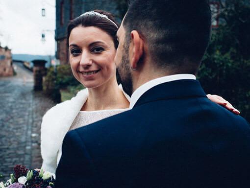 Hochzeitsfotograf - Braut mit Brautigam