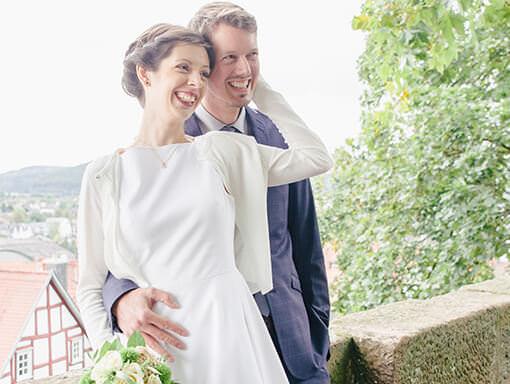 Hochzeitsfotograf - Thomas Kowalzik - Glückliches Hochzeitspaar