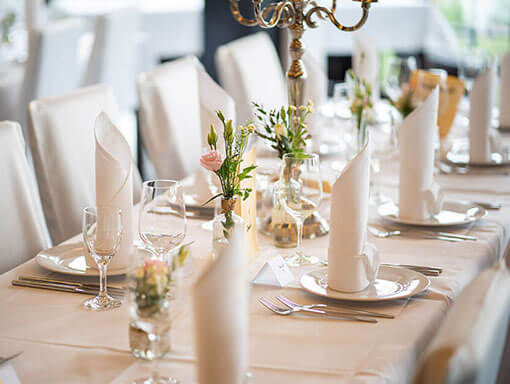 Hochzeit - Tischdekoration - Hochzeitsfotograf - Thomas Kowalzik