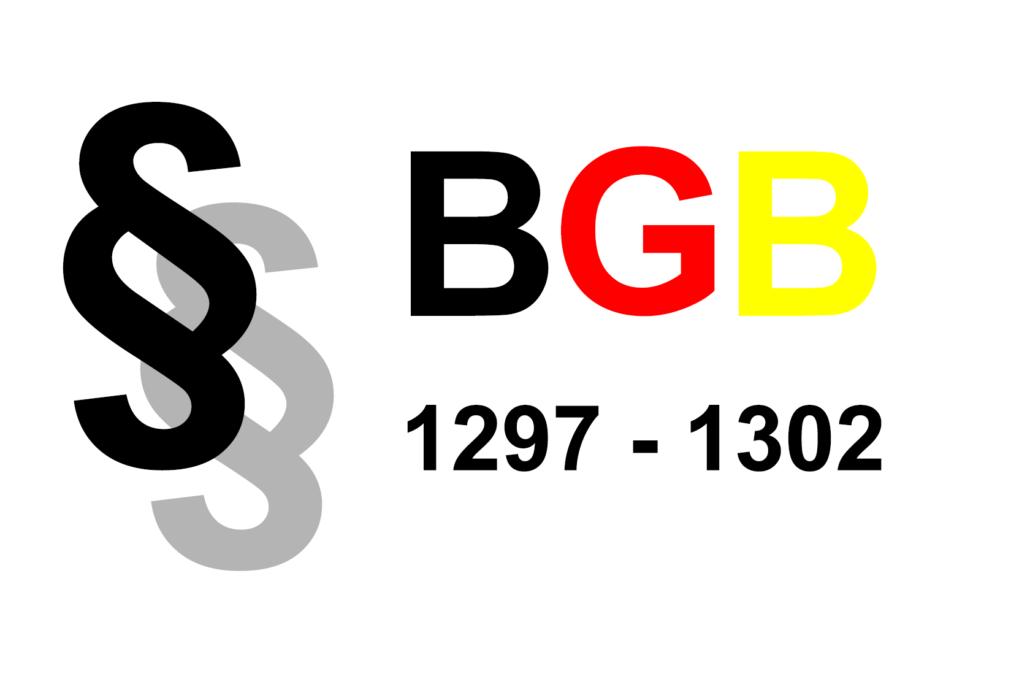 BGB Verloben §1297-§1302