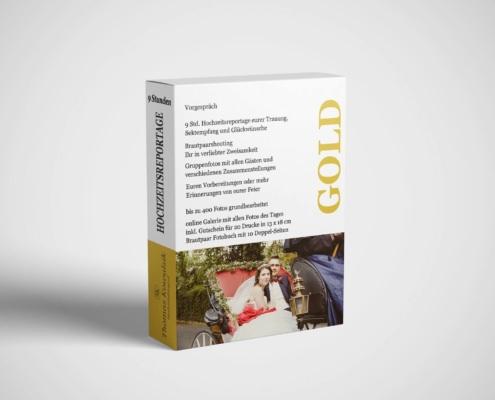 Hochzeitsreportage - Gold mit 9 Stunden