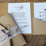 Hochzeitspapeterie - Die Einladungskarten