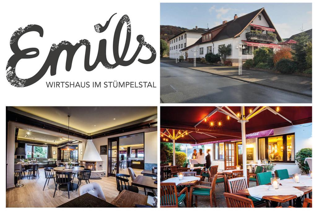 Collage vom Wirtshaus & Landgasthof im Stümplstal