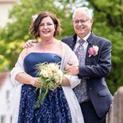 Wir empfehlen dich unbedingt weiter, sagen Regina und Horst in ihrer Rezension über mich als ihr Hochzeitsfotograf