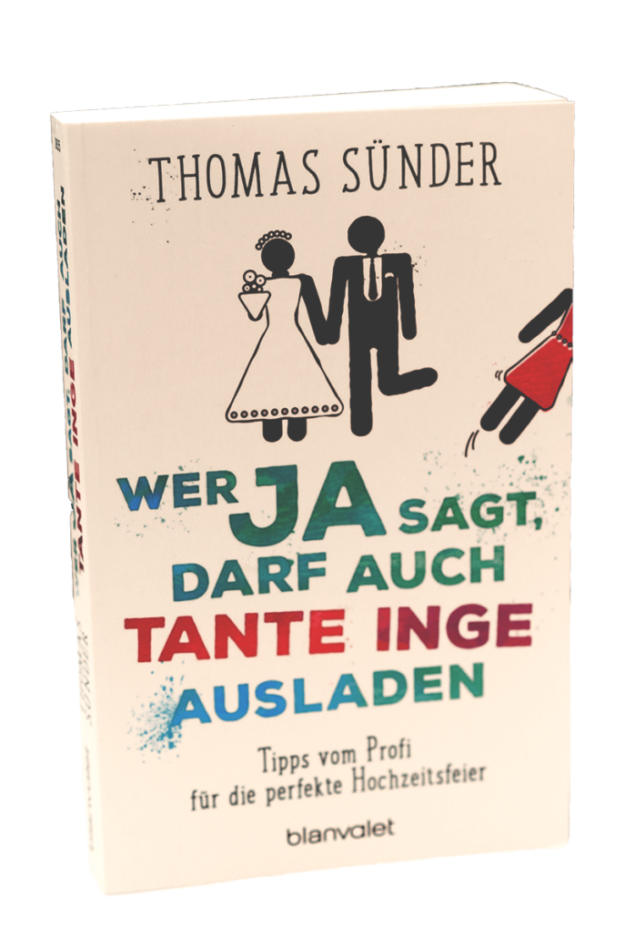 Der Preis zum Instagram Gewinnspiel im März 2021 - Das Buch: WER JA SAGT, DARF AUCH TANTE INGE AUSLADEN