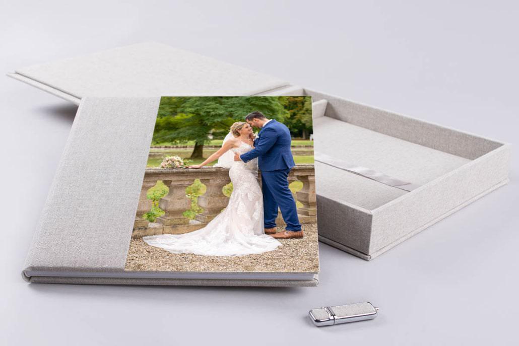 Präsentiert ausgewählte Momente eurer Hochzeit ganz exklusiv in einem edlen Hochzeitsalbum