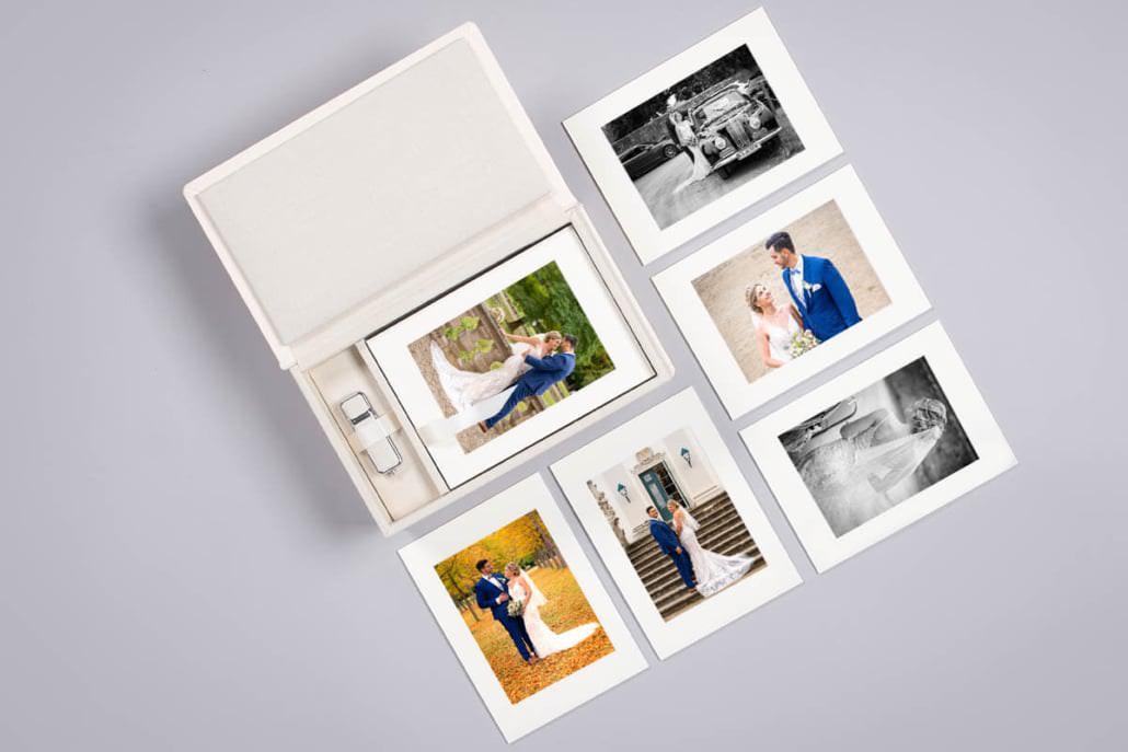 Die Passepartout Box ist etwas ganz Exklusives für einzeln ausgewählte Fotos oder die Fotos von eurem Paarshooting